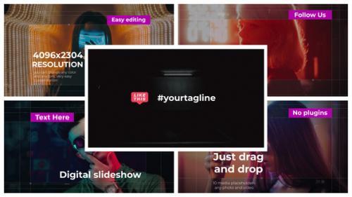 Videohive - Digital Slideshow    FCPX - 33043369 - 33043369
