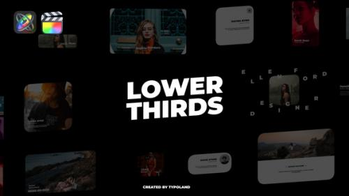 Videohive - Cinematic Lower Thirds - 33059911 - 33059911