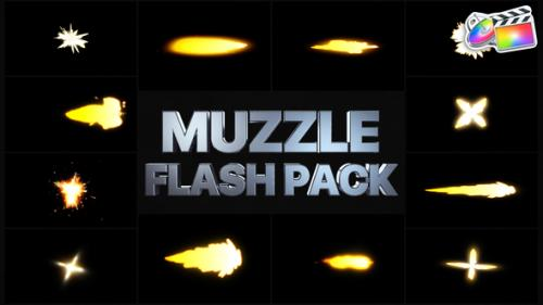 Videohive - Muzzle Flash Pack 02   FCPX - 33060868 - 33060868
