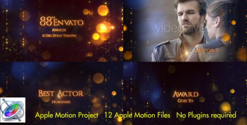 Videohive - Award Show - Apple Motion - 18240567 - 18240567