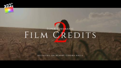 Videohive - Film Credits Pack V.2 - 33077503 - 33077503