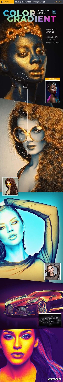 GraphicRiver - Color Gradient Photoshop Action 24300047