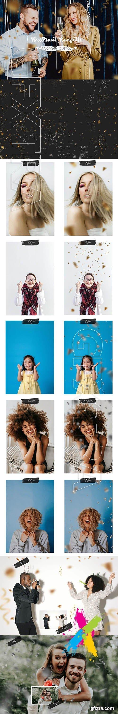 CreativeMarket - 36 Brilliant Confetti Overlays 5825139