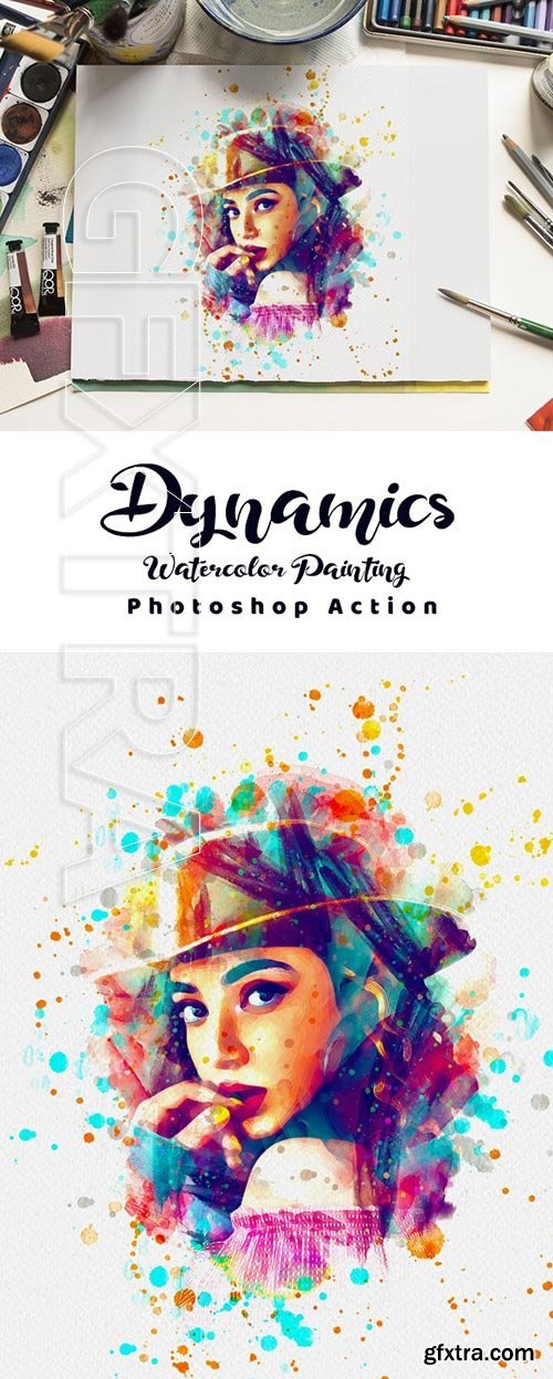 GraphicRiver - Dynamics Watercolor Painting 24992682