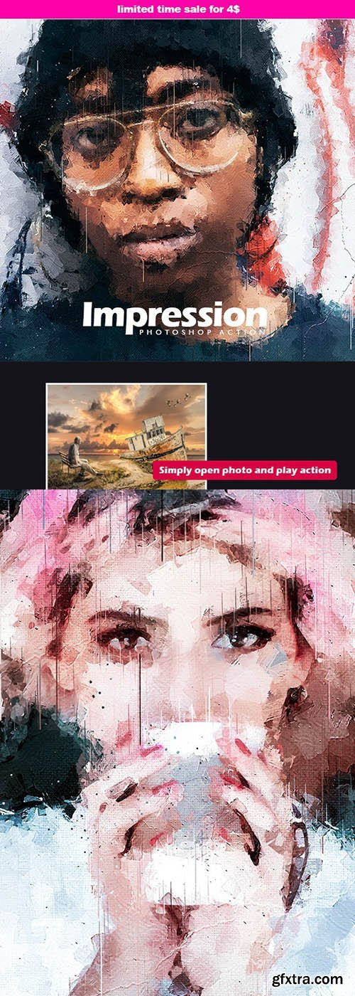 GraphicRiver - Impression - Photoshop Action 25633707