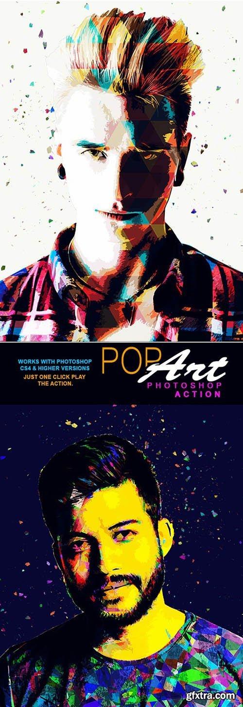 GraphicRiver - Pop Art Photoshop Action 26433420