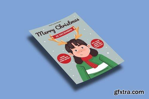 Christmas Sale Flyers Template