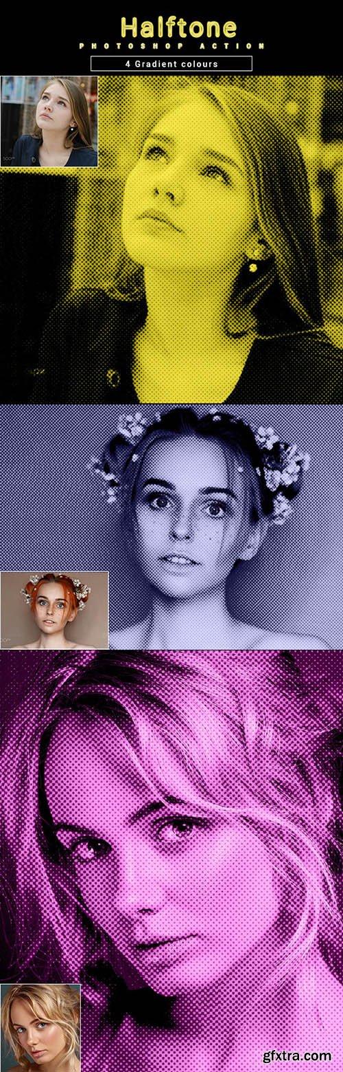 GraphicRiver - Halftone - Photoshop Action 32373343