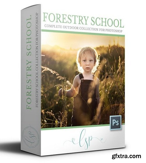 Forestry School - The Outdoor Photoshop Action Collection