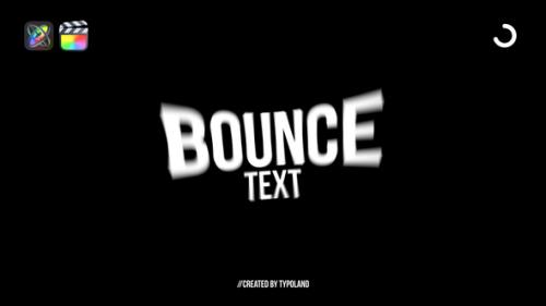 Videohive - 50+ Bounce Text Animations - 33123796 - 33123796
