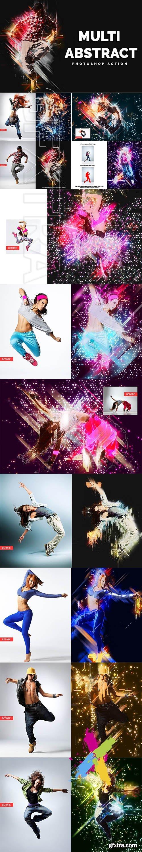 CreativeMarket - Multi Abstract Photoshop Action 3559837