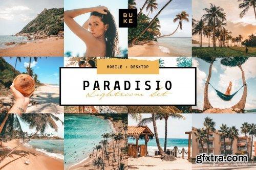 CreativeMarket - Paradisio 8 Lightroom Presets Bundle 3978938