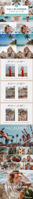 CreativeMarket - Cali Blogger Lightroom MOBILE Preset 4043898