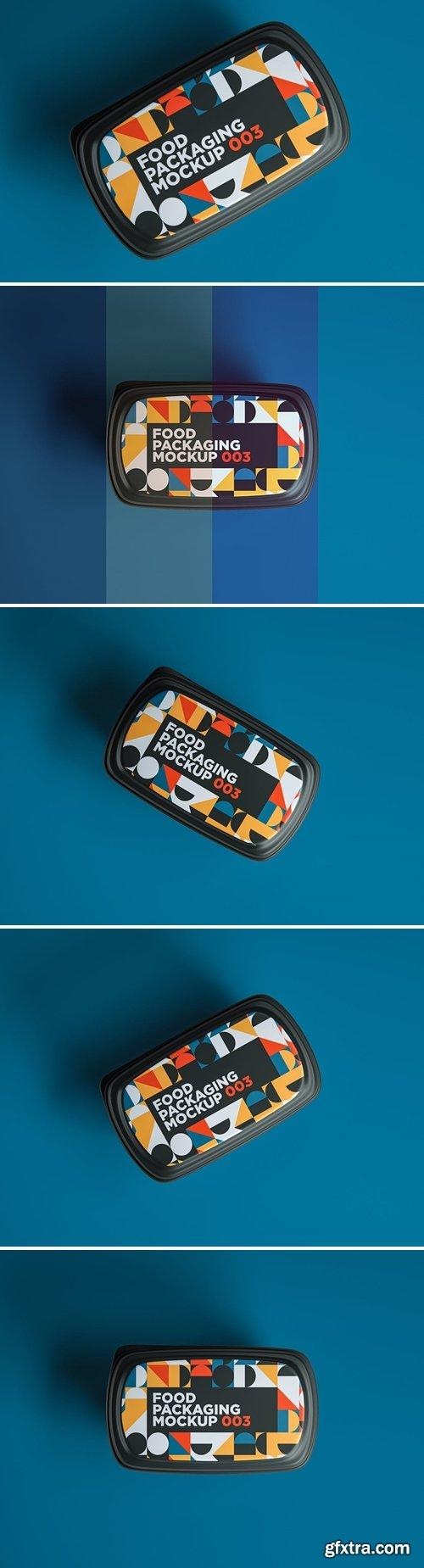 Food Packaging Mockup 003
