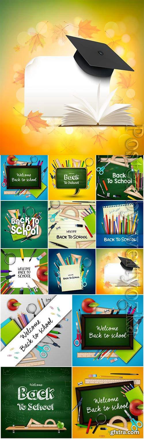 Illustrations back to school