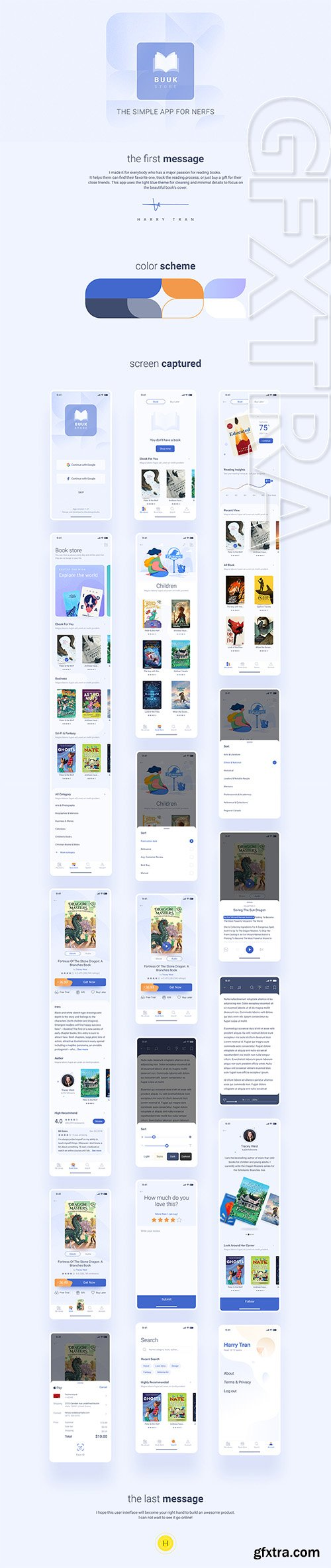 Book Store - The fresh book app for nerd