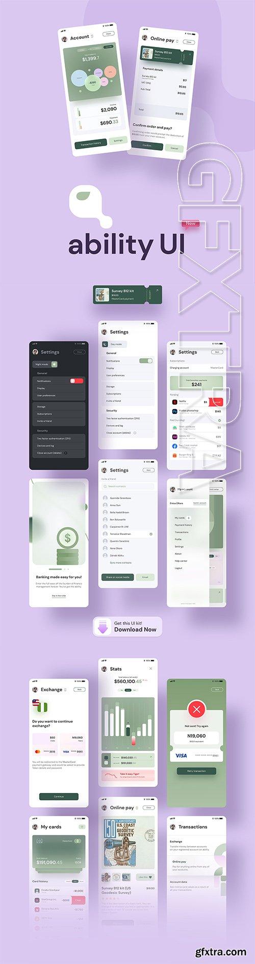 Ability UI Kit