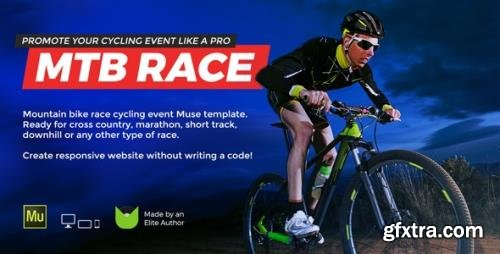 ThemeForest - MTB Race v1.0 - Mountain Bike Racing / Marathon / Cycling Event Website Muse Template - 21738947