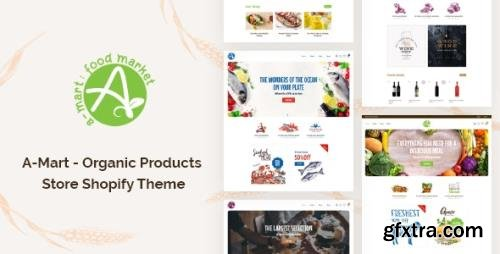 ThemeForest - A-Mart v1.0 - Organic Products Store Shopify Theme - 33018495