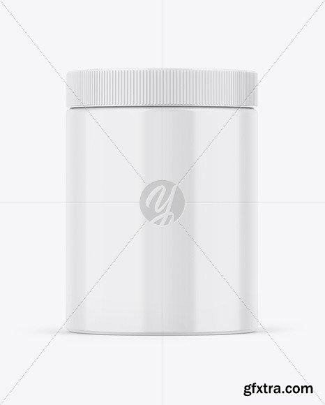 Glossy Jar Mockup 86564