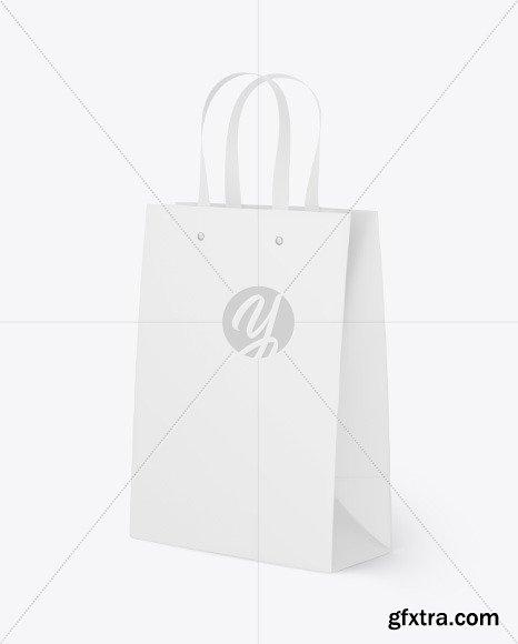 Matte Paper Bag Mockup 86559