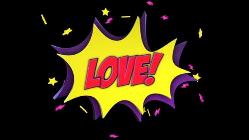 Videohive - Comic Package: CRUSH, LOVE, MATCH, SMACK - 33220322 - 33220322