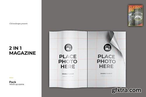 Magazine 3D Mock Up
