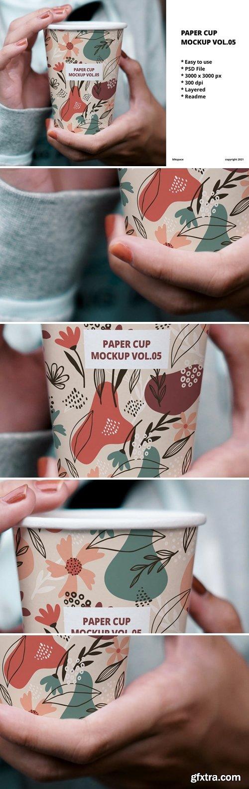 Paper Cup Mockup Vol.05