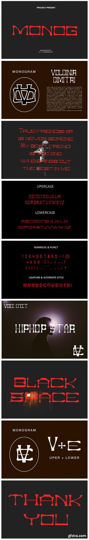 Monog Font