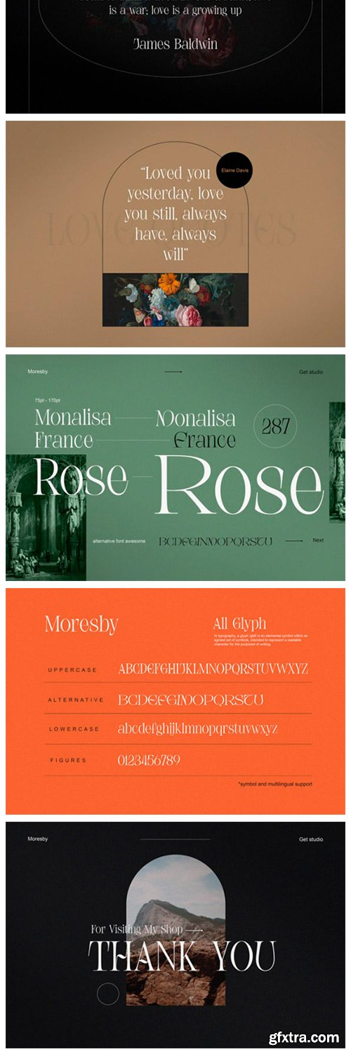Moresby Font