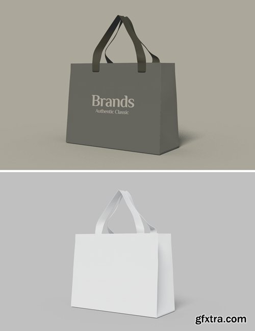Shopping Bag Mockup Template V.4