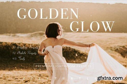 CreativeMarket - Warm GOLDEN GLOW Lightroom Presets 4259781