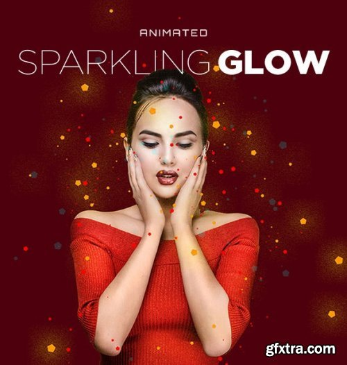 GraphicRiver - Sparkling Glow Animated Action 24823290