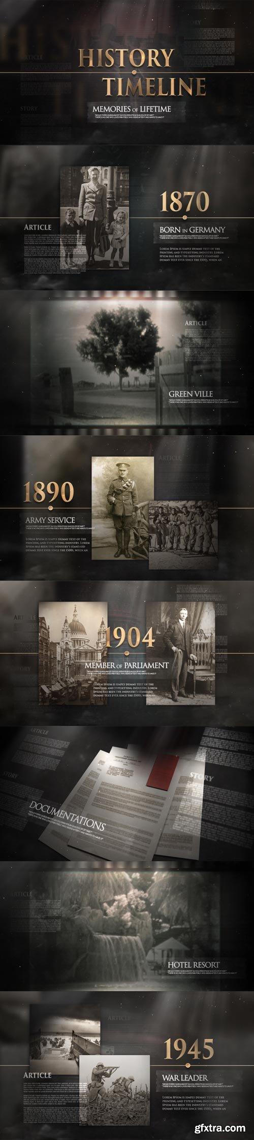 Videohive - History Memories Pack - 32523386