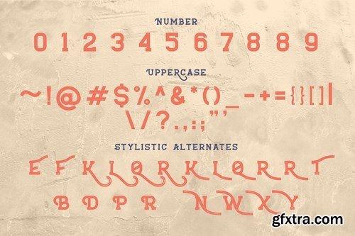 CM - Burtuqol - Vintage Slab Serif 5541695