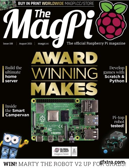 The MagPi - August 2021