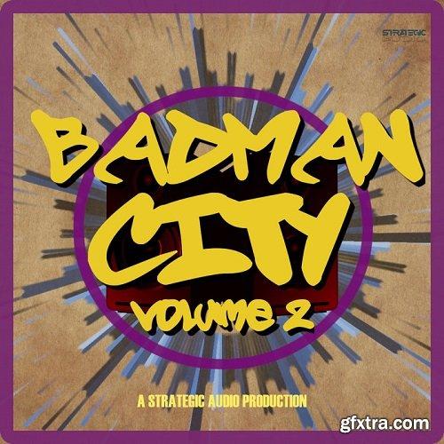 Strategic Audio Badman City 2 WAV MiDi