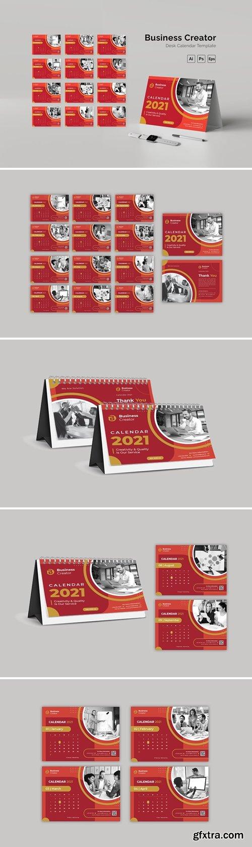 Business Creator Desk Calendar