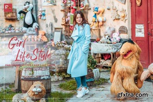 CreativeMarket - 10 Photoshop Action Girl Lifestyle 6000013