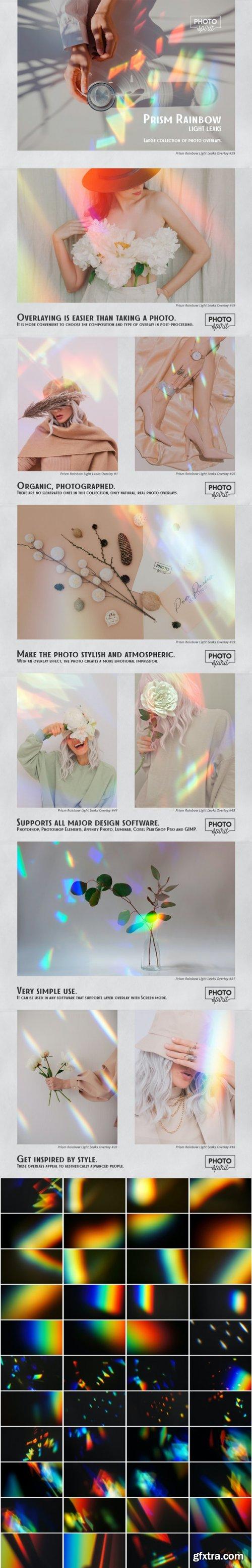 GraphicRiver - Prism Rainbow Light Leaks Overlays 32687434