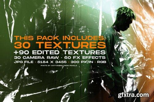 CreativeMarket - Plastic Wrap textures mega bundle 5294675