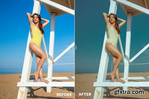 Summer Vibes Action & Lightrom Presets