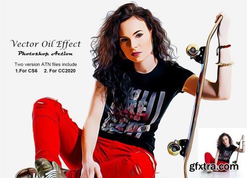 CreativeMarket - Vector Oil Effect PS Action 5300337