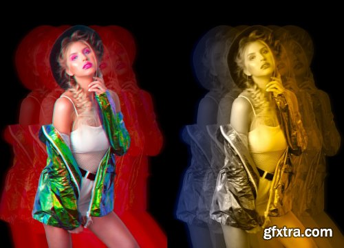 CreativeMarket - Colorful Exposure Photoshop Action 5357809