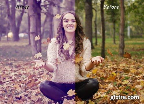 CreativeMarket - Soft Pastel Photoshop Action 5457029