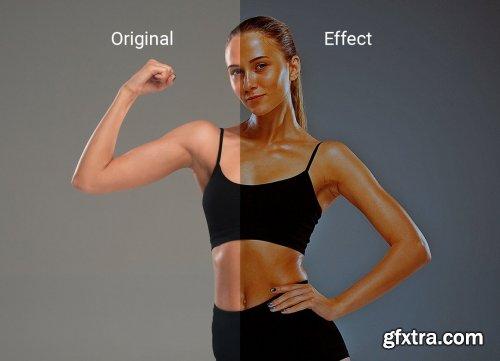 CreativeMarket - Dark HDR Effect Photoshop Action 5509525