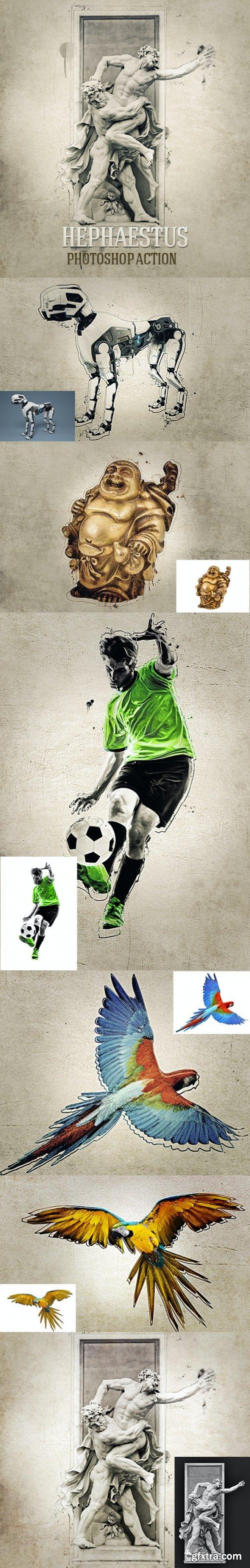 GraphicRiver - Hephaestus Photoshop Action 32051037