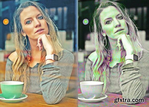 CreativeMarket - Photoshop Oil Painting Effect 6167106