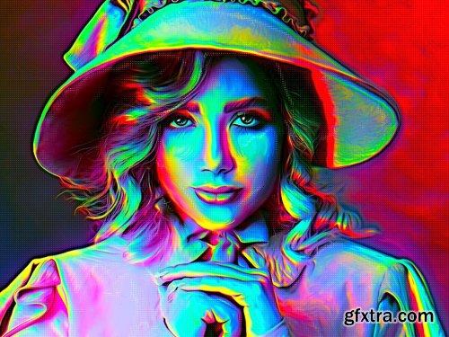 CreativeMarket - Rickshaw Painting PRO Digital Art 6167247