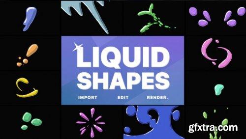 Liquid Shapes 963976